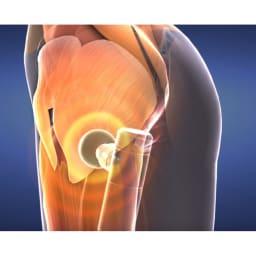 プラチナボディトリガー 【大臀筋】自分ではケアしづらい大きい筋肉や、奥の筋肉までしっかり振動が届きます。