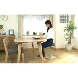 MIZUNO/ミズノ スクワットスリールα(アルファ) ○ダイニングテーブルに置いてスクワット