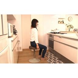 MIZUNO/ミズノ スクワットスリールα(アルファ) ○キッチンカウンターに置いてスクワット