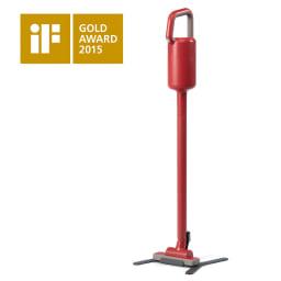 ±0/プラスマイナスゼロ コードレスクリーナー 世界的デザイン賞「iFデザインアワード2015」金賞を受賞!おしゃれなデザインで掃除が楽しくなりそうです。