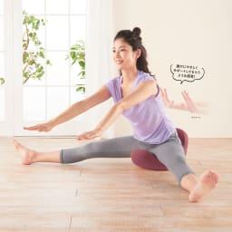 柔ら美人 開脚ベターイージースリム 座ることで開脚運動をサポート!股関節周りをストレッチし、柔らかくすることで、すっきり美ボディを目指す。