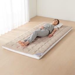 ブレスエアー(R)敷布団NEO(シングル) 腰や肩だけでなく全身にかかる負担を減らし朝まで快眠