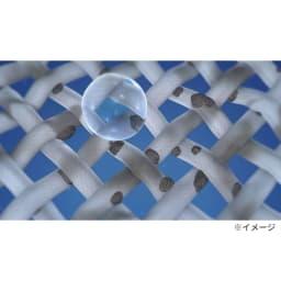 洗濯機プレミアムアダプター 普通水だとどうしても繊維の奥まで入り込めないから細かい汚れまで落とすのが難しい。