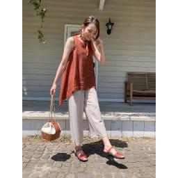 ARCOPEDICO/アルコペディコ サマーサンダル(シャープ) パンツにもスカートにも相性の良い安定感のあるストラップタイプ。 (エ)サーモンピンク