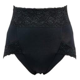 BRADELIS NewYork/ブラデリスニューヨーク 綿混すっきりショーツ 色・サイズが選べるお得な2枚セット (ア)ブラック…一つは欲しい 定番ブラック。 ※前側:表面