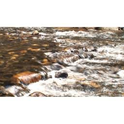 羽毛布団のフルリフォーム(クイーン) 洗浄に使う水は名水百選にも選ばれた御岳昇仙峡と同じ源泉の水を使用。