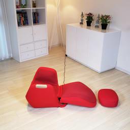 エアリーツイストボディ ※寝た状態で使用するときは必ず枕やクッションを使用してください ※写真の専用クッションは別売りです