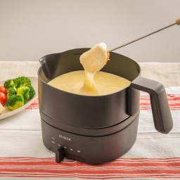 siroca/シロカ おりょうりケトル ちょいなべ SK-M151/SK-M152 [調理例] チーズフォンデュ