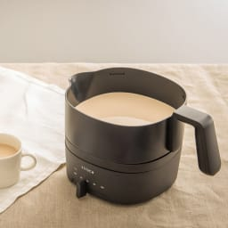 siroca/シロカ おりょうりケトル ちょいなべ SK-M151/SK-M152 [調理例] ミルクティー