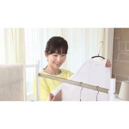 洗濯機プレミアムアダプター 見えない汚れや菌まで落とすから部屋干しの嫌な臭いも気になりにくい!