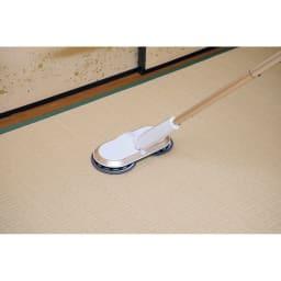 コードレス回転モップクリーナーNeo プレミアムセット(パッド計6枚) 畳の掃除に!(モップを固く絞ってご使用ください)