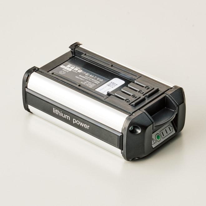 ビューティテック コードレス高圧洗浄機 スペア用バッテリーパック 充電パックを複数持てばさらに長時間使用可能。
