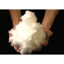 エアリーダウン掛け布団(セミダブル) 羽毛のように軽く、柔らかく、フワフワで気持ちが良いのに、なんと自宅の洗濯機で丸洗い可能。汚れやニオイを気にせず清潔に使えます。(※洗濯ネットをご使用ください。)