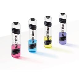 タイカンストリーム スタンダード / TAIKAN STREAM STANDARD ブルー、ピンク、イエロー、パープルの着色剤付き。水を入れる際に着色剤を加えると、水に色がついて見た目にも楽しくトレーニングできます。
