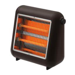 ±0/プラスマイナスゼロ 遠赤外線電気ストーブ (イ)ブラウン 大きな部屋の補助暖房として、小さな場所ならメイン暖房として使用できます。