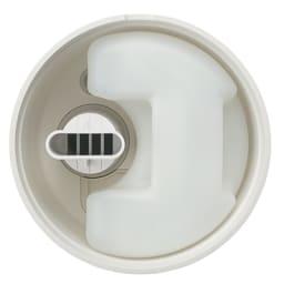 ±0/プラスマイナスゼロ スチーム式加湿器 最大約2L入る大容量水タンクは中も手で洗えて衛生的です。