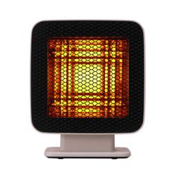 省エネなのにパワフル! ±0/プラスマイナスゼロ リフレクトヒーター 熱源の手前に特許取得(韓国特許番号:10-0754472)の特殊反射板を配置することで熱を集中!