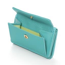 千秋プロデュース ミニ財布 ◎表面にはコインポケット付き!