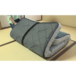 FranceBed/フランスベッド エアリーフォース(シングル) マットレスなのに三つ折りできる!ベッドは欲しいけど置けないという方もこれなら大丈夫。