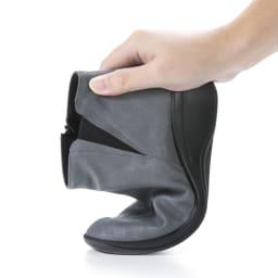 ARCOPEDICO/アルコペディコ サイドゴアショートブーツ ※グレーは販売しておりません。ブーツなのにクルッと半分に折り曲げられるほどしなやかで柔らかい。歩いたときの足の返りが良く、足運びがスムーズ。これも歩きやすく疲れにくい秘密。