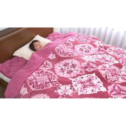 布団の老舗・西川 毛布仕立て布団カバー(ダブル) ※敷きパッドは別売りです