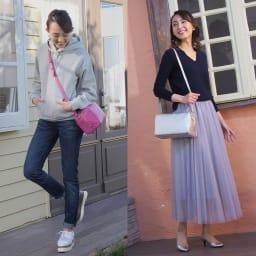 千秋プロデュース 12ポケットバッグ 斜め掛けも可能。