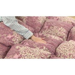 西川の特選寝具 シングルセット(6点+特典2点付き) ダウン93%の羽毛布団は、ふわふわ感がまるで違う!