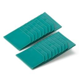 コジマジックプロデュース パルメラート調牛革長財布 取り外し可能なカードケースを付けました!8枚収納可能。銀行用、病院用などカードを分けて収納し、使う時にお財布にセットするといった使い分けができます。