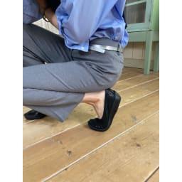 ARCOPEDICO/アルコペディコ バレエシューズ リュクス 屈曲性に優れるから、靴が足にしっかりフィットし、足運びがスムーズ。