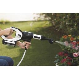 ビューティテック コードレス高圧洗浄機 【こんな場所で活躍!】庭やベランダの水やりに。
