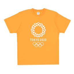 エンブレムプリント Tシャツ YO-20(東京2020 オリンピックエンブレム) (ウ)イエロー