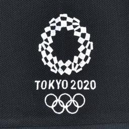 袖刺繍 ポロシャツ YO-08(東京2020 オリンピックエンブレム) (オ)ブラック