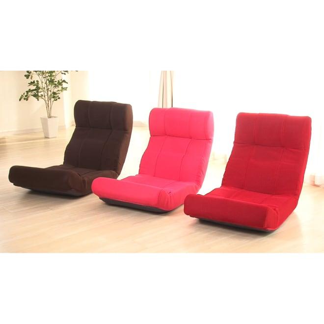 快適ソファー座椅子 らくらく腹筋生活DX(ピュアフィット) 一見、ただの座椅子ですが、実は座椅子型のフィットネスアイテム。レッグバーを引きだし、脚を固定すると腹筋運動がラクに、手軽にできます。
