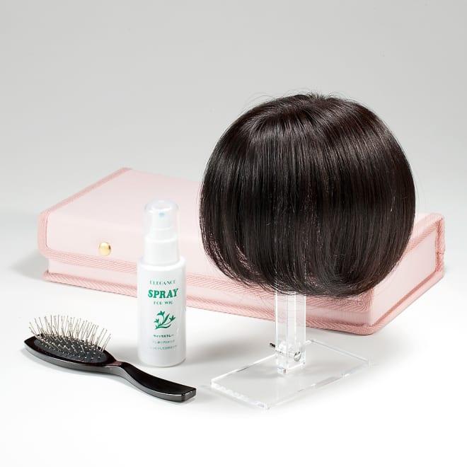 人毛100%ファッションウィッグ(セミロングタイプ) 創業40年以上のウィッグ専門メーカーがクオリティーにこだわり作り上げた「人毛100%ファッションウィッグ」 ◎トップが長めの「セミロングタイプ」が登場!髪が長めの方、段がない方によく馴染み、前髪を作りたい方にもおすすめ!