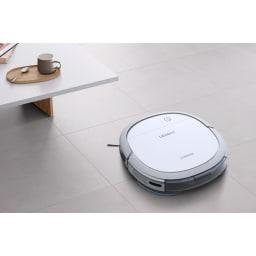 エコバックス ロボット掃除機アクアブレス ゴミの吸引と水拭きを同時に行う1台2役のロボット掃除機。