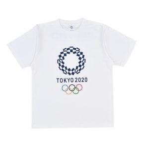 エンブレムプリント Tシャツ YO-20(東京2020 オリンピックエンブレム) 写真