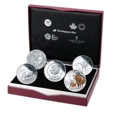 丑年記念コイン 銀貨5種セット