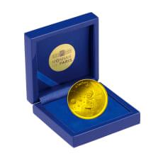 星の王子さまフランス版発刊75周年記念コイン ぼくと三日月 50ユーロ金貨