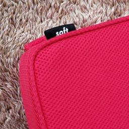 パーフェクトエクサ(R) 【裏面(soft)】も使えるリバーシブル仕様 タグが目印に(タグの表側は黒無地)