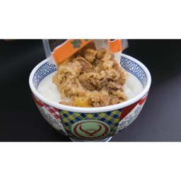 吉野家 牛丼の具(120g×20食+4食) レンジでチンして、ご飯にかけるだけ!簡単調理も嬉しいポイント。