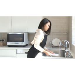MEYER/マイヤー 電子レンジ圧力鍋 スイッチを入れたら、後は放ったらかし!側についていなくても大丈夫!レンジしながら皿洗いも。