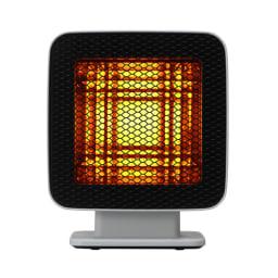 ±0/プラスマイナスゼロ リフレクトヒーター 熱源の手前に特許取得(韓国特許番号:10-0754472)の特殊反射板を配置することで熱を集中!(ア)ライトグレー…明るめのグレーなので、どのお部屋にも合わせやすい。