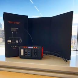 EVERBright/エバーブライト メガパワーバンク ※ソーラーパネルに接続して充電する際は、日光が当たらないようにしてください。