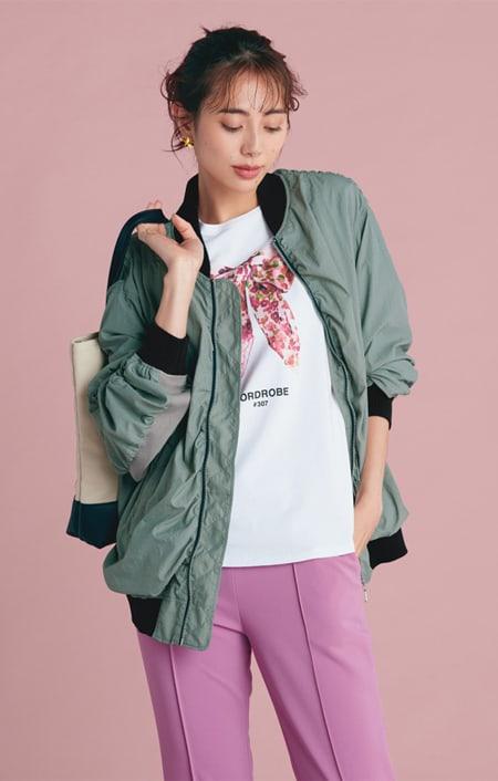 WORDROBE/ワードローブ プリントTシャツのコーディネート