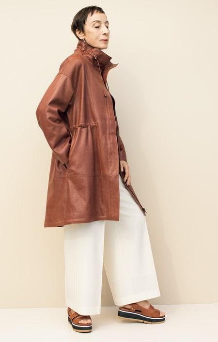 エントルフィーノ モッズ風デザイン コートのコーディネート
