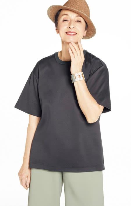 シルケット コットンジャージー Tシャツのコーディネート