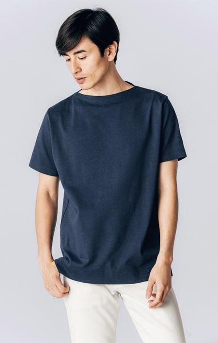 フランス「BUGIS」社 バスクシャツシリーズ ショートスリーブのコーディネート