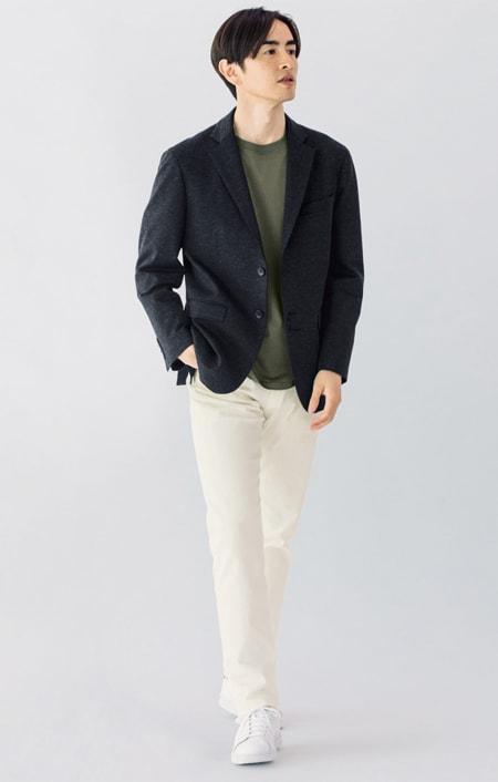 ジャージセットアップシリーズ ジャケットのコーディネート