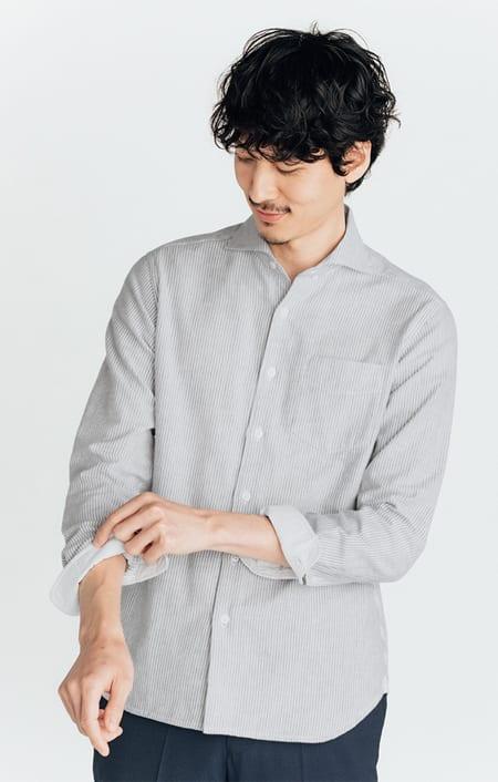 SCENE(R) 今治タオルシャツのコーディネート